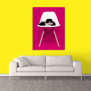 Canvas Painting - Animal Art Wall Painting - Gallery Wrapped Wooden Frame (33 inches X 21 inches