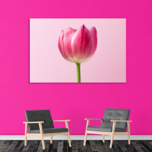 Sehar Crafts Canvas Painting - Modern Nature Floral Art Wall Painting - Gallery Wrapped Wooden Frame (33 inches X 21 inches
