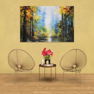 Sehar Crafts Abstract Canvas Painting