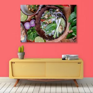 Sehar Crafts Vegetables Canvas Painting